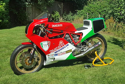 ducati 750 f1 project by two wheel classics uk. Black Bedroom Furniture Sets. Home Design Ideas