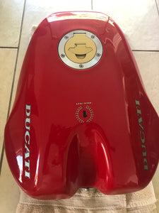 "Ducati Early ""Take-Off"" OEM 916 Superbike Fuel Tank"