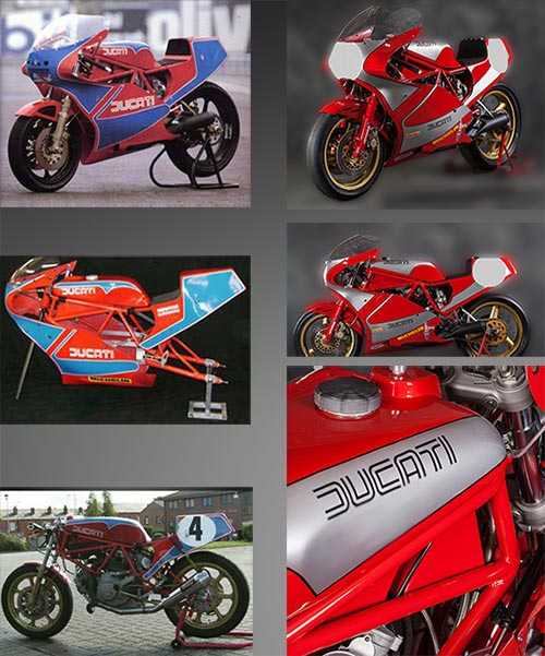Ducati TT 2 and TT 1 Complete Chassis and Bodywork Kit