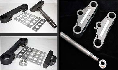 Ducati TT 2 Fully Adjustable Yoke/Triple Clamp Kit