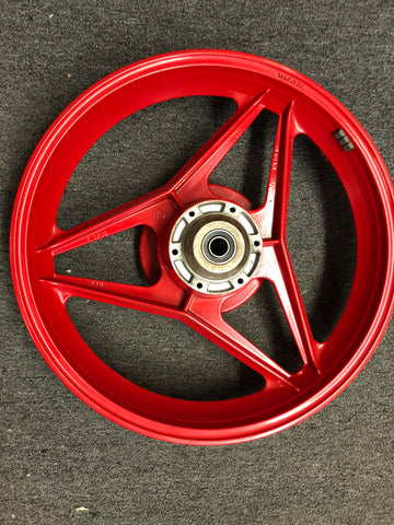 "Ducati Cagiva 18"" OEM Rear Wheel in Red by Oscam"