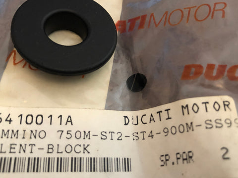 Ducati NOS Exhaust Damper Rubber for Supersports, Monsters, ST, #76410011A