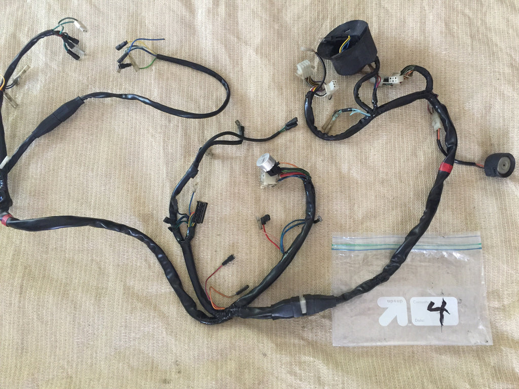 Ducati 900 860 Square Case Bevel Drive Full Wiring Loom4 Harness Italianiron Classics