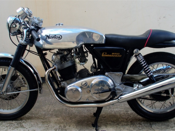 Norton 850 & 750 Commando Aluminum