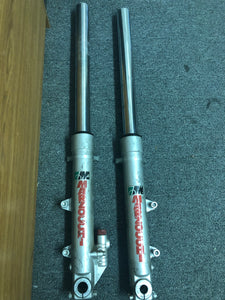 Silver 41.7 mm Marzocchi M1R Front Forks for Ducati & Other Marques