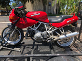 Ducati 900 ss & 888/851 Superbike Stainless Steel Mufflers by F1R