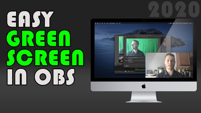 Easy Green Scren in OBS Tutorial