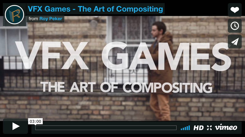 VFX Games - The Art of Compositing & Green Screen