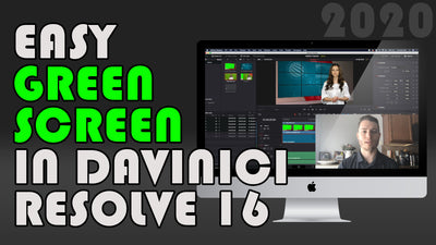 Brand New Green Screen Tips for [the FREE] Davinci Resolve 16!