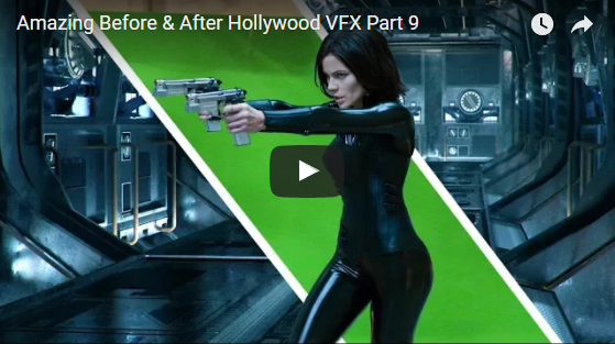 Before & After Cinema VFX & Green Screen Magic!