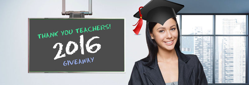 2016 Teacher Appreciation Giveaway! Sept 15th - Sept 30th 2016!