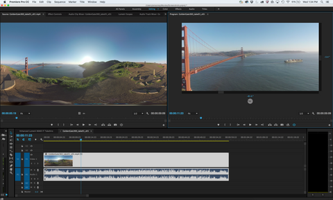 Adobe Premiere VR Capable