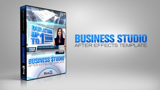 business news studio