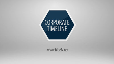 Corporate Timeline After Effects Template by BlueFX - Virtual Set Lab