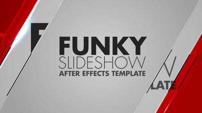 Funky Slideshow After Effects Template by BlueFX - Virtual Set Lab