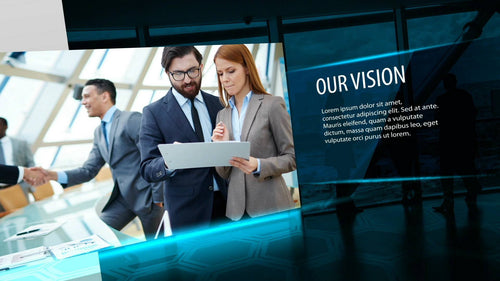 Corporate Timeline After Effects Template by BlueFX