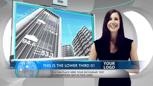 Business Studio News After Effects Template by BlueFX -