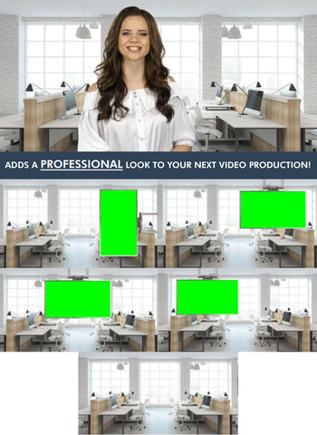 Contemporary Office HD / 4K Virtual Set
