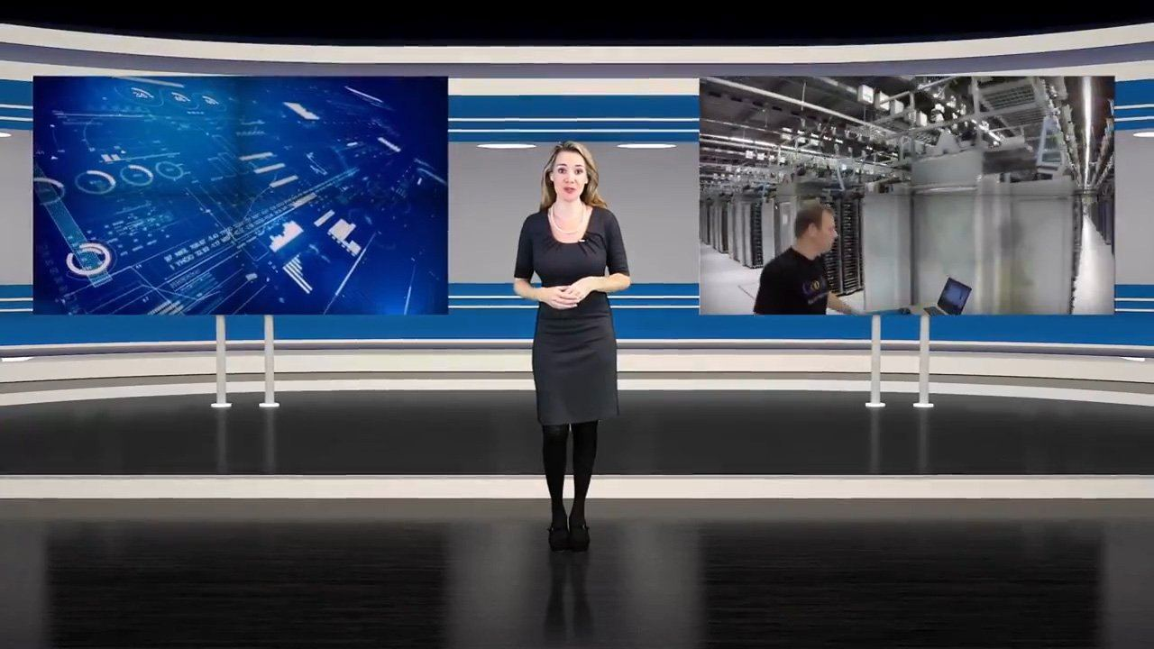 virtual news set 5 after effects and premiere pro template by bluefx virtual set lab. Black Bedroom Furniture Sets. Home Design Ideas