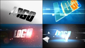 4 Logo After Effects Template by BlueFX - Virtual Set Lab