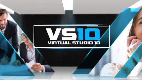 Virtual News Set 10 After Effects and Premiere Pro Template by BlueFX
