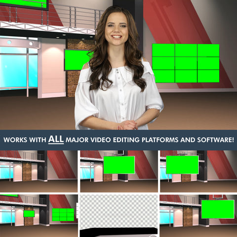 Virtual News Set 12