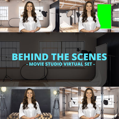 Behind the Scenes HD / 4K Virtual Movie Set - Virtual Set Lab