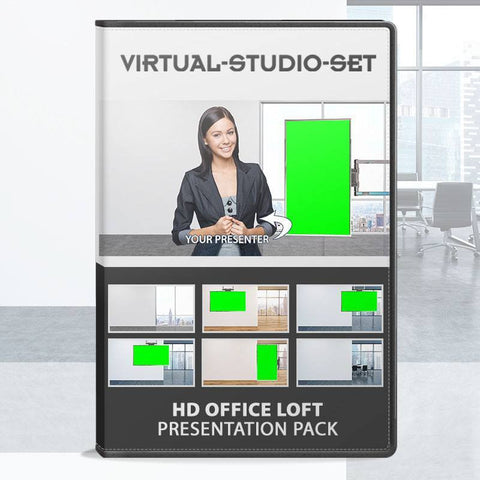 Office Loft Virtual Set After Effects Template