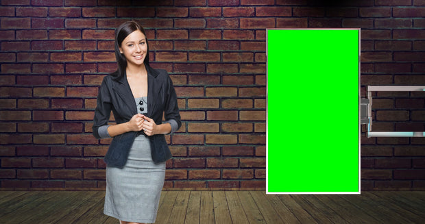 Organic Studio Presenter Bundle After Effects Template - Virtual Set Lab