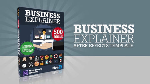 Business Explainer After Effect template