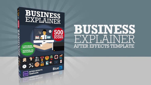 Business Explainer After Effect template - 2