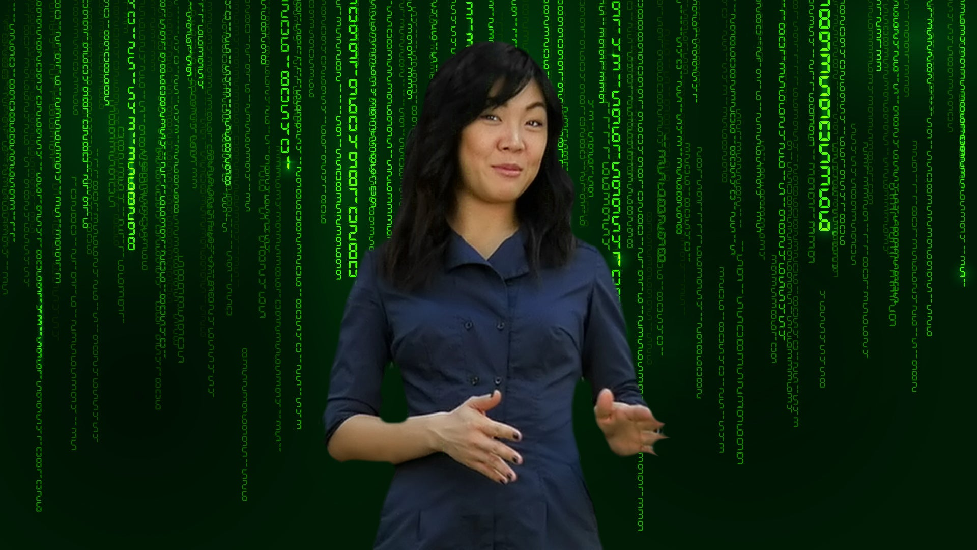FREE Matrix Inspired Zoom / Online Meeting Virtual Background