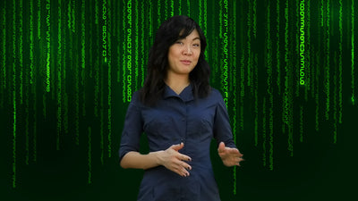 FREE Matrix Inspired Zoom / Online Meeting Virtual Background - Virtual Set Lab