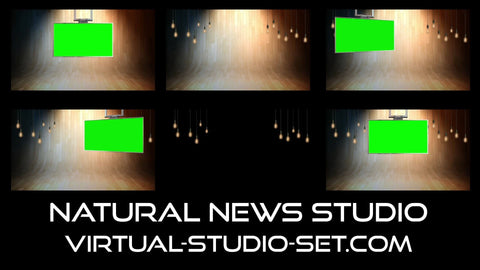 Natural News Virtual Set