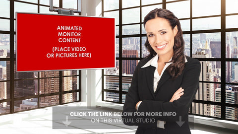City Lofts Vol 2 Adobe After Effects | Adobe Premiere Virtual Set
