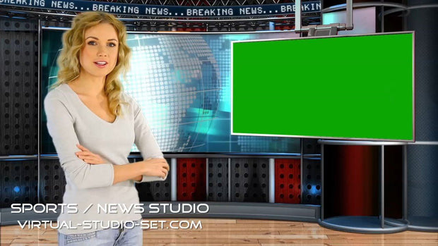 Sports / News Virtual Set