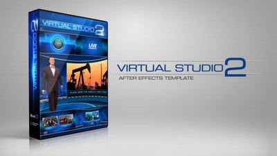 Virtual Studio 2 After Effects Template by BlueFX - Virtual Set Lab