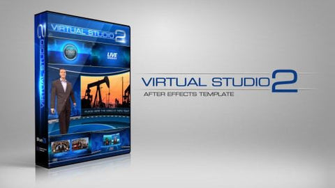 Virtual Studio 2 After Effects Template by BlueFX