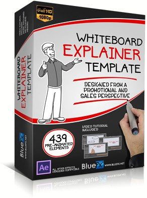 Whiteboard Explainer After Effects Template by BlueFX