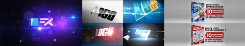 4 Logo After Effects Template by BlueFX