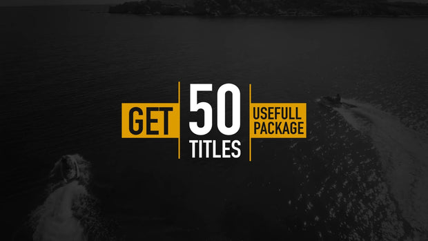 50 Modern Titles and Lower Thirds by BlueFX - 4