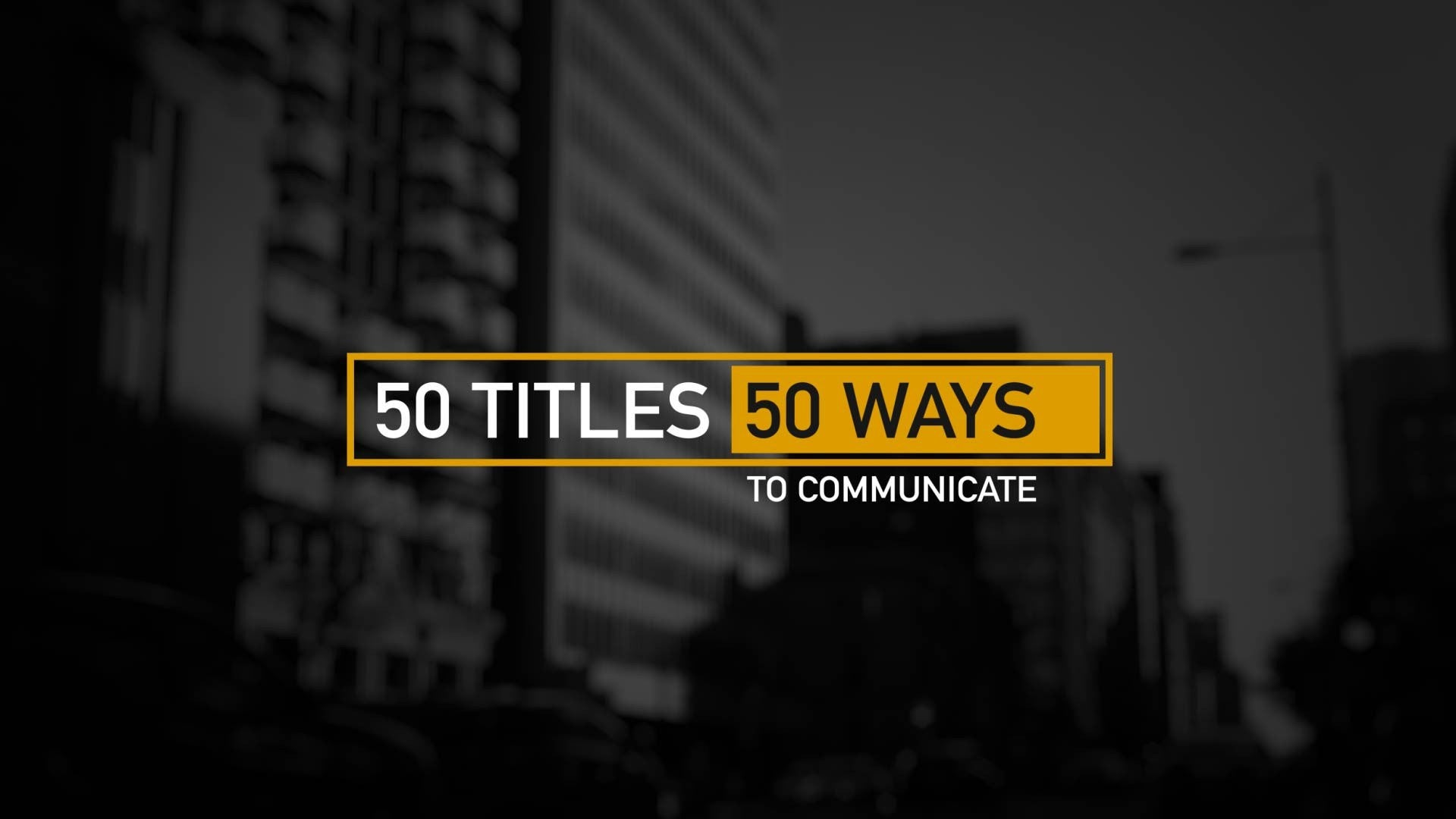 50 Modern Titles and Lower Thirds by BlueFX - 2