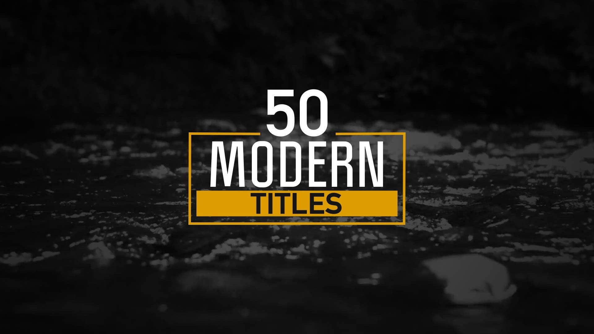 50 Modern Titles and Lower Thirds by BlueFX - 10