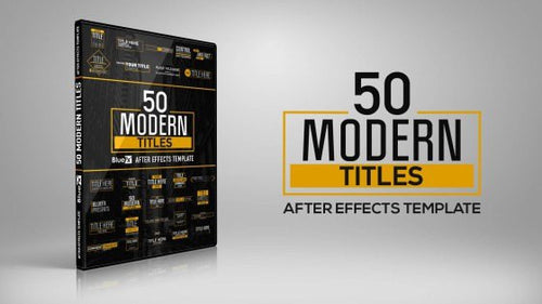 50 Modern Titles and Lower Thirds by BlueFX - 1