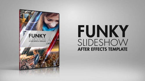 Funky Slideshow After Effects Template by BlueFX