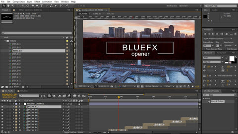 3 Show Intro Project Pack After Effects Template by BlueFX