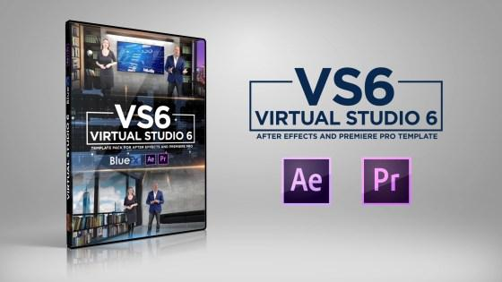 BFX Virtual News Set 6 - For After Effects & Premiere Pro Projects