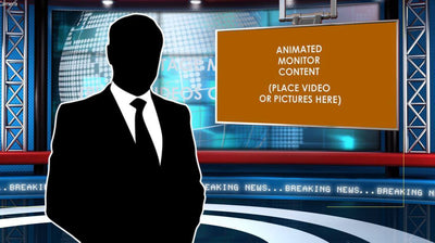Global News After Effects Virtual Set - Virtual Set Lab