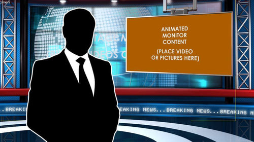 Global News After Effects Virtual Set