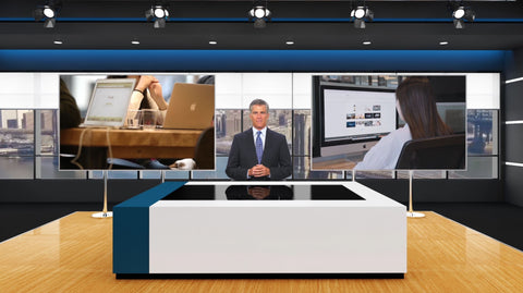Virtual News Set 11 After Effects and Premiere Pro Template by BlueFX